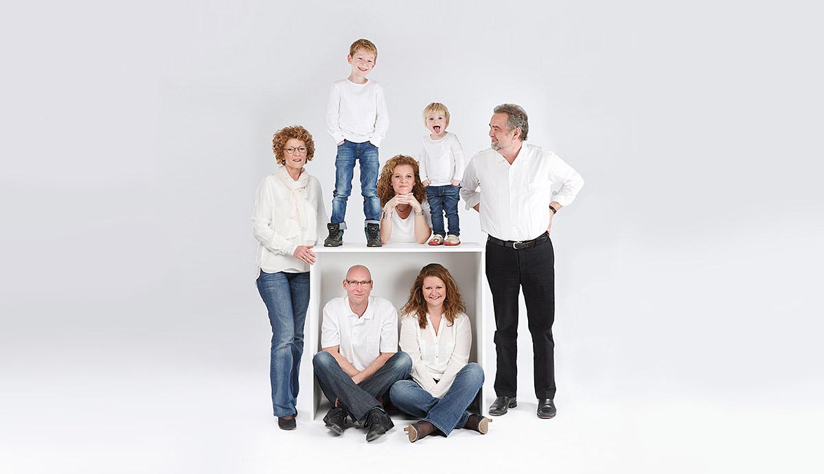 Familienfotos Berlin im Fotostudio