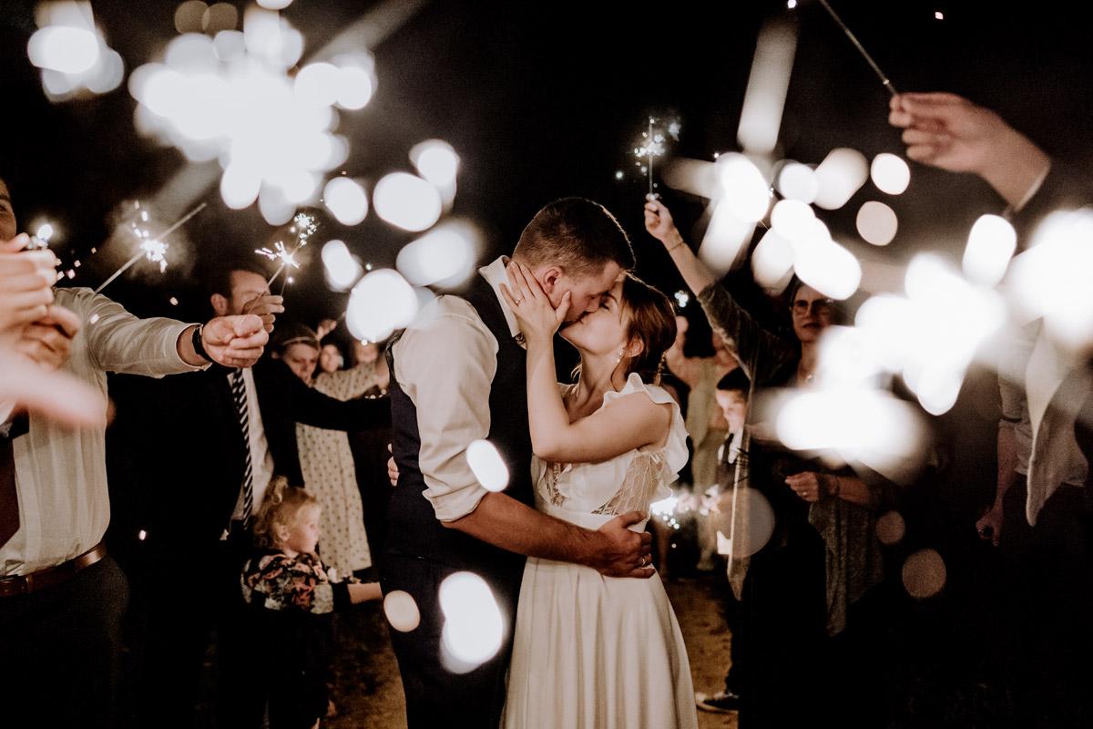 Hochzeitsfotografie im Feld