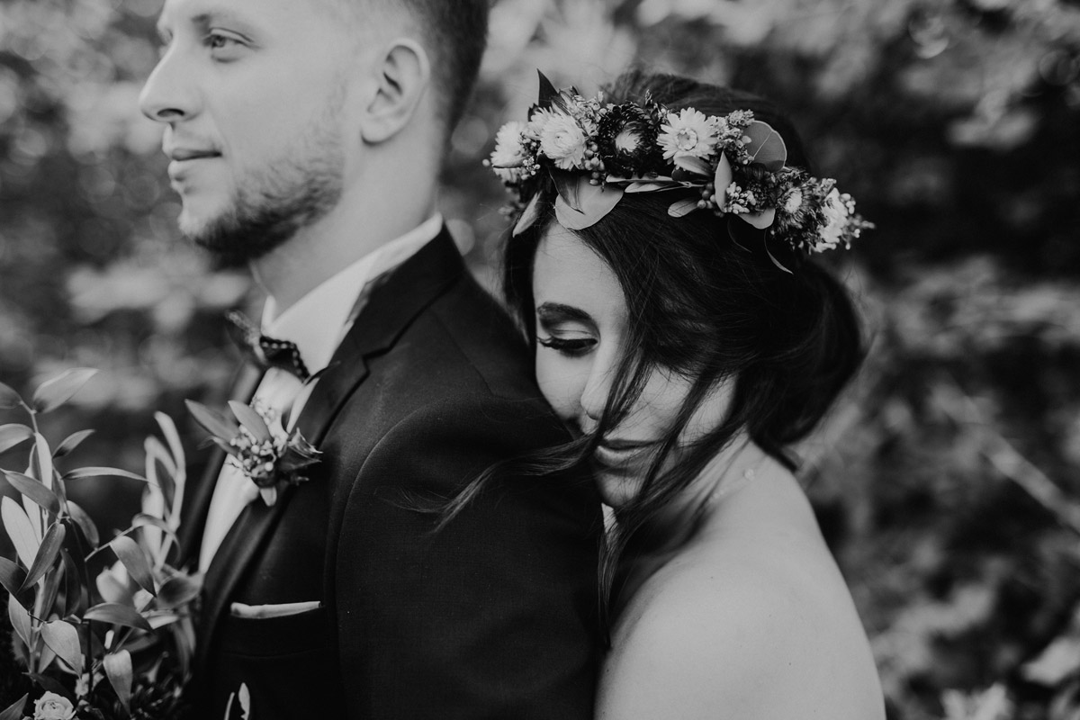 Hochzeitsfoto Mohnfeld